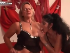 Nasty blonde slut gets horny spastic movie 4