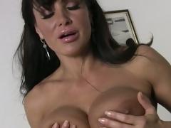 Big breasted housewife Lisa Ann