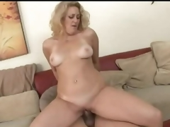Golden-haired milf is an amazing cock rider