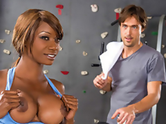 Alana Angel Her Handsome Gym Trainer